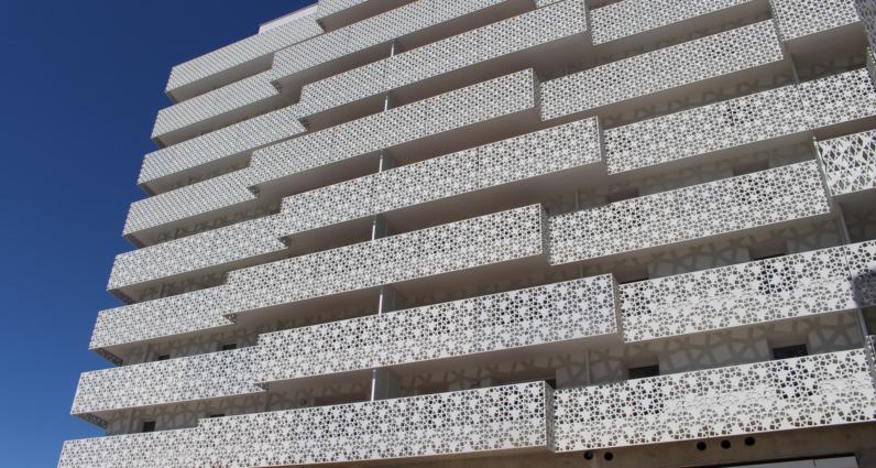 Белый фибробетон краска для полов по бетону купить в спб